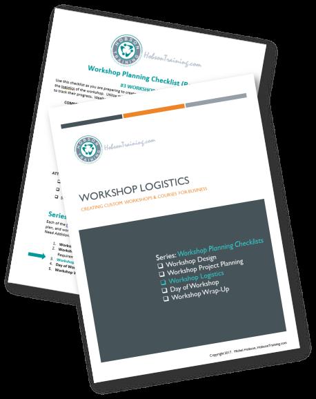 Workshop Checklist - Logistic